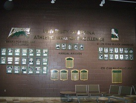 U of R Athletic Wall of Excellence