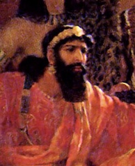 Xerxes (Ahasuerus) by Ernest Normand, 1888 (detail)