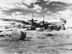B-29 on an unfinished airfield in China, 1944[4]