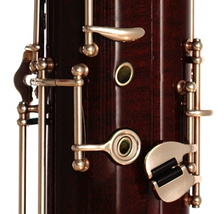 The modern bassoon was only feasible as an instrument when the mechanical technology for creating precise key mechanisms was developed. In the 2010s, flutes, clarinets and many other woodwind instruments use similar key mechanisms.