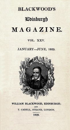 Blackwood's Magazine, 1829