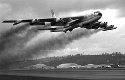 Kelly AFB provided depot-level support for the B-52 from its introduction in 1955 until 1993