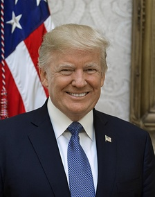 Donald Trump, 45th and current President of the United States