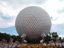 Spaceship Earth at Epcot.