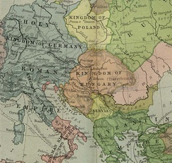 Zahumlje in 1190 as a lower part of Kingdom of Hungary
