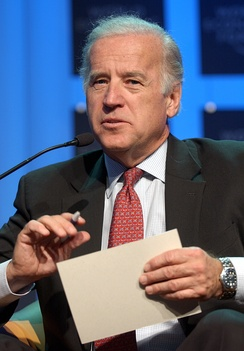Joe Biden at the World Economic Forum in Davos, Switzerland