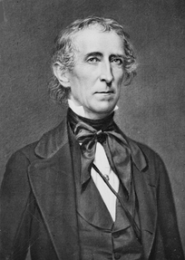 Incumbent President John Tyler, the Democratic-Republican Party presidential nominee
