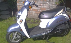 Kymco scooter with CVT