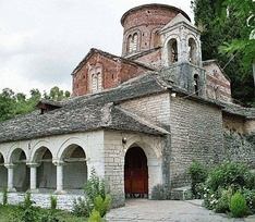 Dormition of the Theotokos Church in Labovë e Kryqit.