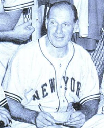 Durocher with the Giants in 1948.