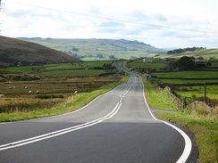 A stretch of A59 between Skipton and Harrogate
