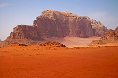 Wadi Rum's resemblance to the surface of Mars has made it a popular filming and tourist attraction, including scenes in The Martian (2015).