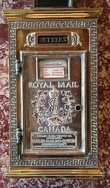 Royal Mail Canada postbox from c. 1900s