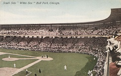 "Comiskey Park, then known as ""White Sox Park,"" in the early 1910s"