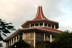 The Supreme Court of Sri Lanka is located in Colombo