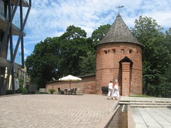 The tower of Kaunas city wall