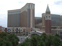 The Venetian in Paradise is also the headquarters of casino giant Las Vegas Sands.