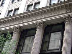 Philadelphia Stock Exchange, the oldest stock exchange in the United States