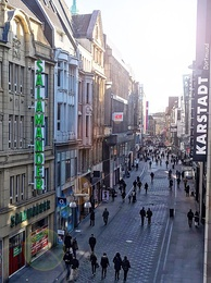 Westenhellweg in Dortmund was Germany's most frequented shopping street in 2016