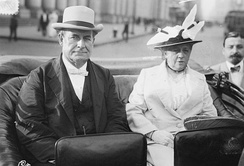 William Jennings Bryan and wife Mary in New York City, June 19, 1915