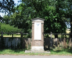 Memorial to the wartime used of Great Dunmow