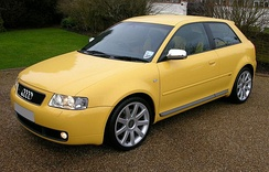 Audi S3 (facelift) finished in Imola Yellow