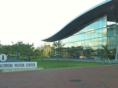 Baltimore Visitor Center in Inner Harbor