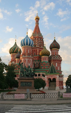 Saint Basil's Cathedral was built in 1561