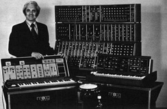 Robert Moog, inventor of the Moog synthesizer