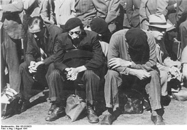 Jewish prisoners in France, August 1941
