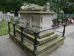 Bunhill Fields funerary monument