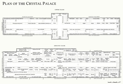 Plan of the Crystal Palace