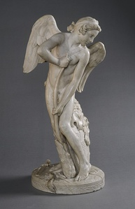 Cupid by Edmé Bouchardon, National Gallery of Art (1744)