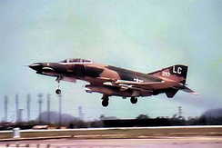 F-4E of the 421st Tactical Fighter Squadron, Da Nang Air Base