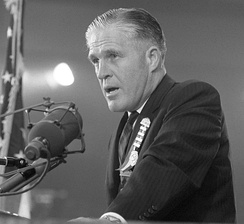 Romney speaking at the 1964 Republican National Convention