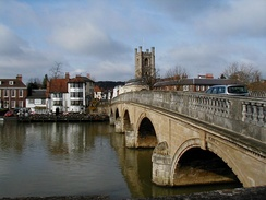 Henley Bridge over the River Thames