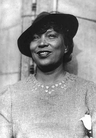 Author Zora Neale Hurston