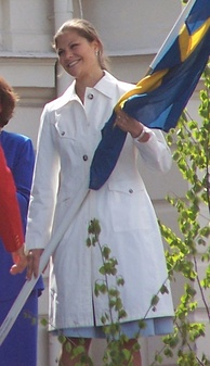 Crown Princess Victoria on the National Day of Sweden, 2006