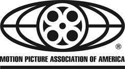Logo for the Motion Picture Association of America.