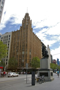 Manchester Unity Building in Melbourne (1932)