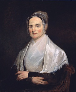 "Lucretia Mott was described as ""the moving spirit of the occasion"".[36]"