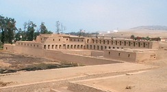 Pachacamac was an important religious centre before the arrival of Spanish conquistadors.