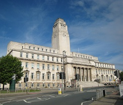 The Parkinson Building, named after Frank Parkinson, a major benefactor to the university