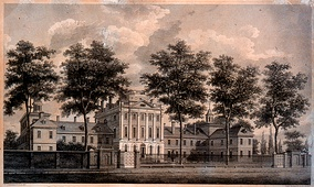 Pennsylvania Hospital by William Strickland, 1755