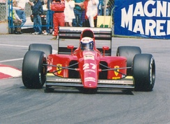 Triple champion Alain Prost had a disappointing year with Ferrari, culminating in his dismissal before the end of the season.