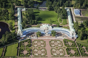 Aerial view of the Grand Menshikov Palace