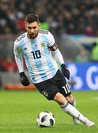 Lionel Messi, five times FIFA Ballon d'Or winner, is the current captain of the Argentina national football team.