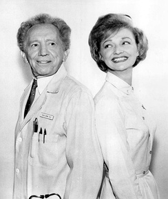 Jaffe & Ruth Foster in 1965