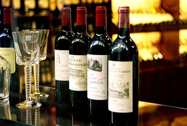 The Bordeaux wine region is world-famous for its high-end wines.