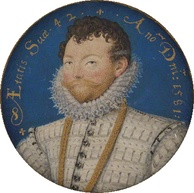 Sir Francis Drake. Leicester was happy to invest in his ventures and invite him to play cards.[164]